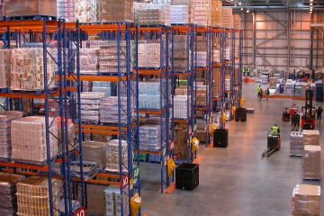 distribution center aisles